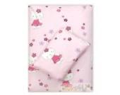 4tlg. Babybettwäsche Set Baumwolle Kinderbettwäsche Bettwäsche Baby Decke Kissen D2