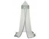 TAFTAN MK-210 Sternen Silber Moskitonetz für Wiege bis zum Grossbett, in 2 farben verfügbar