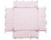 Laufgittereinlage | Nestchen | geeignet für Laufgitter mit der Größe: 100x100 cm | Farbwahl (rosa/weiss)