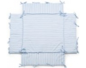 Laufgittereinlage | Nestchen | geeignet für Laufgitter mit der Größe: 100x100 cm | Farbwahl (blau/weiss)