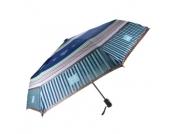 lief! Doily - Regenschirm - blau