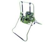 Stand Babyschaukel Babywippe Kindersitz Kinderschaukel Schaukel Zimmerschaukel (grün)