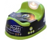Lumi Potty *GREEN* With White Night Light (Versand aus UK)