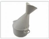 Inhalator 2-teilig *Klickverschluß* für Heilpflanzenöl Gesichtssauna bei Erkältung