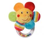 Baby Fehn 70´s Stripes Rassel Blume [Babyspielzeug]
