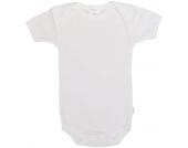 Liliput Body Kurzarm Feinripp Gr. 50/56 (Weiß) [Babykleidung]