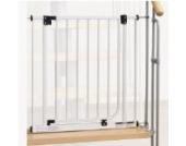 IMPAG ® Treppenschutzgitter Easy Step für Geländer | inkl. 2 Y-Adapter für 73cm - 142cm | ohne Bohren | einfache Montage | Treppen-Gitter Baby Kleinkind Hund