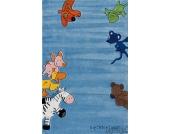 Kinderteppich Die Lieben Sieben Gr. 80 x 150