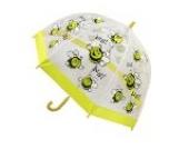Bugzz Kinderregenschirm, Bienenmuster, PVC