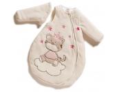 Jacky Nicki Winterschlafsack Tigerkatze Gr. 86/92 mit abnehmbaren �rmeln (Creme-Pink) [Babykleidung]