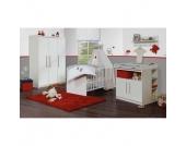 roba Kinderzimmer Maren 3-türig schmal - weiß