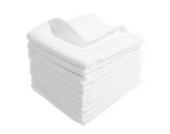 10 Mullwindeln 60x80 cm weiss 100% Baumwolle - kochfest bis 95° Moltontuch Mulltuch Spucktuch Stoffwindel Mulltücher
