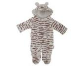 Baby Schneeanzug mit Kapuze, Mummys Little Tiger (0-3 Monate (50-56)) (Tieger)