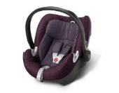 Babyschale Gr. 0+, 0-13 kg, ab Geburt bis ca. 18 Monate Aton Q Plus Cybex Grape Juice - purple
