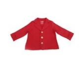 Bio - Blazer, Fleece Jacke, Jungen, verschiedene Farben und Größen (116, Rot)