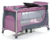 4Baby Moderno Kinderreisebett Violett
