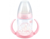 NUK First Choice Baby Rose Trinklernflasche