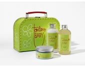 tomtomBABY Geschenkset Bath & Body (Waschgel, Pflegelotion, Wundschutzcreme)