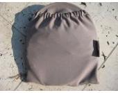 Sonnenschutz Sonnendach Sonnensegel Sonnenverdeck Sonnette® PLUS single UPF 80+ für Kinderwagen (taupe)