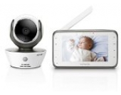 Motorola MBP 854 Connect - Wi-Fi Video Babyphone mit 4.3 Zoll Farbdisplay, weiß