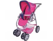 Puppenwagen Coco inkl. Liegewanne pink