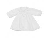 carlina Mädchen Taufkleid 1/1 Arm weiss - weiß - Gr.Newborn (0 - 6 Monate) - Mädchen