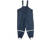 Playshoes Boys Regenhose marine mit Textilfutter - blau - Jungen