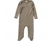 Baby Schlafanzug Wolle/Seide Gr. 74/80