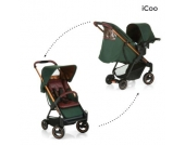 Icoo Buggy Acrobat Shop´n´Drive Copper Green - grün