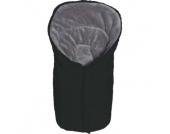 Winterfußsack Eiger Gr.0 - für Babyschale Polyester-Pongee schwarz