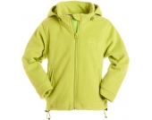 BMS Windsmoother Fleecejacke mit abnehmbarer Kapuze