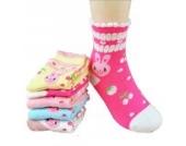 Luckystaryuan ® Set von 5 Mädchen Socken Frühling Herbst Schöne Socke Geschenk für Tochter (9-12years old, Bild 1)