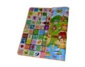 200 x 180 x 1 cm Dicke Doppelseitige Umwelt Faltbare verdickte Schaumwasserdichtes Baby Kinder Spielteppich Spielmatte Lernteppich Puzzlematte Kinderteppich Teppiche Läufer Babydecke Spieldecke Krabbeldecken Lernspielauflage Nähte Anti Rutsch Matten - A