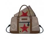 Stapelgoed Thougher - Wickeltasche s-sand - beige