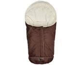 Altabebe Winterfußsack Nordic für Babyschale Größe 0+ braun-whitewash
