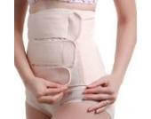 Frauen Sommer-Baumwolle atmungsaktiv Entbindung Kaiserschnitt postpartale Bauch Becken Recovery Gürtel Belly Band Binder (XL)