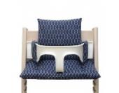 Blausberg Baby - Sitzkissen für Tripp Trapp Hochstuhl - Sailer blau