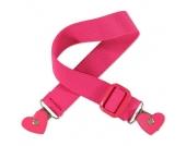 Playshoes Elastik Gürtel Herz-Clip pink - rosa/pink - Mädchen