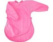 Silly Billyz  SIB-215KI  Kleinkinder-Lätzchen, 18-36 Monate, Velours, pink