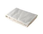 Cotonea Moltontuch 40x40cm 100% kba-Baumwolle, 2er-Pack., naturbelassen mit Druck Kritzelkreise