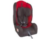 United Kids 102061 Autokindersitz Kid Comfort, Gruppe I/II/III, 9-36 kg, rot / grau