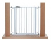Original IMPAG® Treppen und Tür-Schutzgitter Tom | 62 -148 cm| Einhandbedienung | Links- oder Rechts öffnend einsetzbar | 90° Feststell-Möglichkeit | 4 Farben | sicherheitsgeprüft 1930:2011