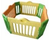 Baby Vivo Laufgitter Laufstall Baby Absperrgitter Krabbelgitter Schutzgitter für Kinder aus Kunststoff - 4-Eck Hauptpaket erweiterbar - Modell 2017