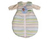 Alvi Kombi-Schlafsack 70 cm/Baby-Schlafsack 2-teilig, Design:blau gestreift 118-1