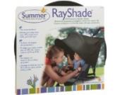 RayShade Sonnensegel/Sonnenschutz für den Buggy, schwarz