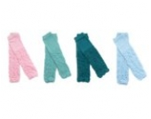 4× Baby Socken Cotton Leggings Kinder Knieschützer Mädchen Jungen Legs Beinstulpen 4 Muster