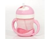 Dr. Schandelmeier 355459 Trinklernflasche 2 in 1 (180 ml),pink