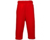 Maddins Baby Unisex Jogginghose (18-14 Monate) (Rot)