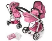 TecTake 400831Babywanne 1seduta (und) Pink Kinderwagen/Buggy