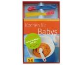 Kochen Babys, m. 6 Wärmesensor-Löffel Kinder